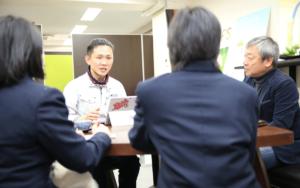 大阪市立新巽中学校SDGs企業訪問